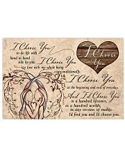 I Choose You Valentine 17x11 Poster front