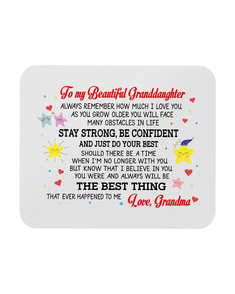 To My Granddaughter Mousepad