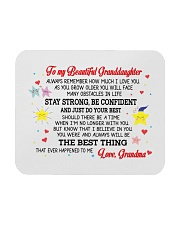 To My Granddaughter Mousepad front