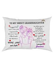 Personalize Granddaughter Pillowcase Rectangular Pillowcase thumbnail