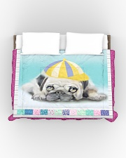 Pug Lover HM21030001D Comforter - King aos-bed-comforters-twin-104x88-lifestyle-front-01