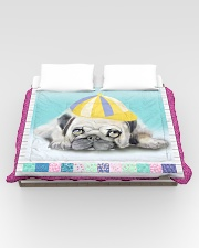Pug Lover HM21030001D Comforter - King aos-bed-comforters-twin-104x88-lifestyle-front-02