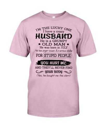 July Crazy Husband