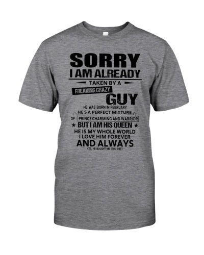 Sorry Guy February