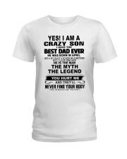 Crazy Son April Ladies T-Shirt thumbnail