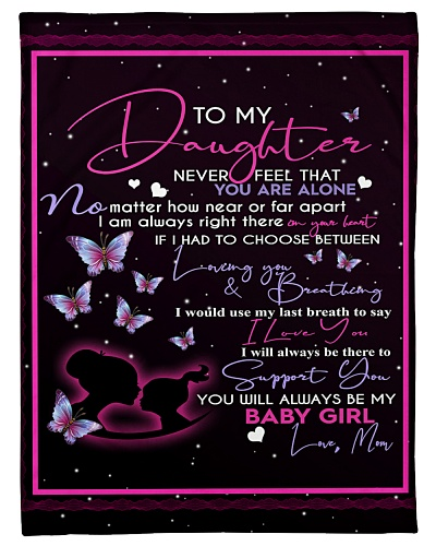 To My Daughter - Mom