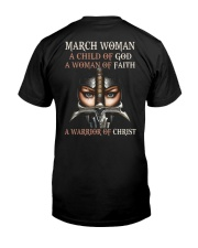 March Woman Classic T-Shirt back