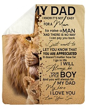 "To My Dad - Son Sherpa Fleece Blanket - 50"" x 60"" thumbnail"