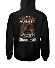 August Men Hooded Sweatshirt thumbnail