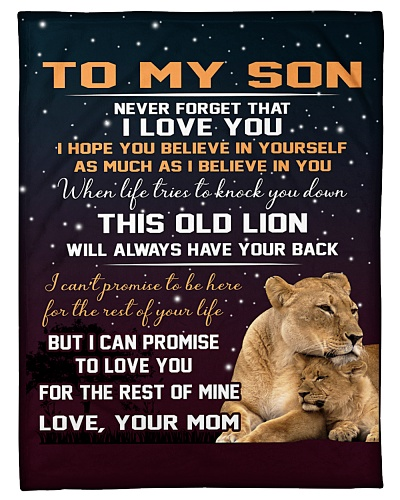 To My Son - Mom