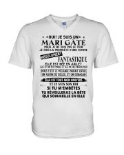 July Wife V-Neck T-Shirt tile