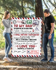 "To My Dad Quilt 40""x50"" - Baby aos-quilt-40x50-lifestyle-front-02"