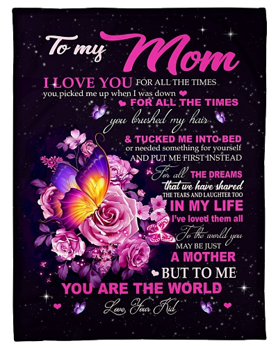 Blanket To My Mom