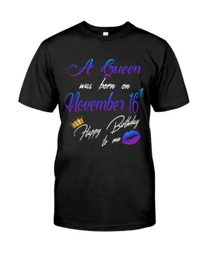 November - Queen 16