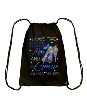 I Have Two Titles Mom And Oma Drawstring Bag tile