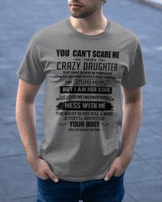 February Crazy Daughter Classic T-Shirt apparel-classic-tshirt-lifestyle-front-46