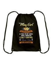 may girl thank Drawstring Bag thumbnail