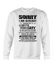 October Sexy and Crazy Crewneck Sweatshirt thumbnail