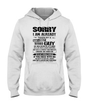 October Sexy and Crazy Hooded Sweatshirt thumbnail