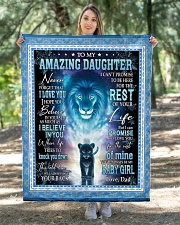 """To My Amazing Daughter Quilt 40""""x50"""" - Baby aos-quilt-40x50-lifestyle-front-05"""