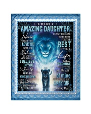 """To My Amazing Daughter Quilt 40""""x50"""" - Baby front"""