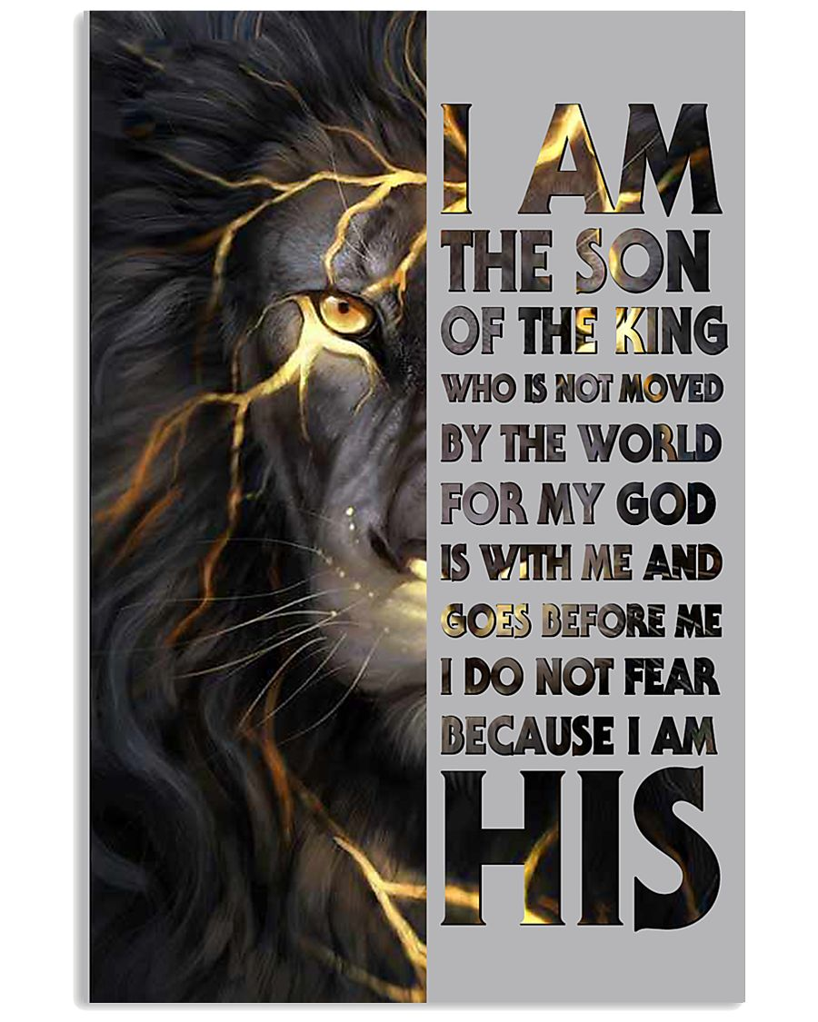 I Am The Son Of The King 11x17 Poster