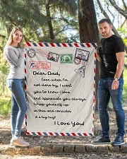 """To My Dad Quilt 40""""x50"""" - Baby aos-quilt-40x50-lifestyle-front-03"""