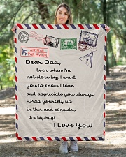 """To My Dad Quilt 40""""x50"""" - Baby aos-quilt-40x50-lifestyle-front-05"""