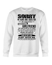 October Awesome Girlfriend Crewneck Sweatshirt thumbnail