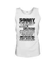 October Awesome Girlfriend Unisex Tank thumbnail