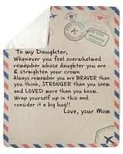 "To My Daughter- Mom Sherpa Fleece Blanket - 50"" x 60"" thumbnail"