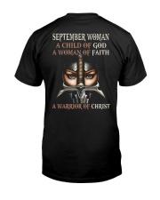 September Woman Classic T-Shirt back