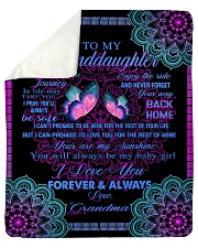 "To My Granddaughter-Grandma Sherpa Fleece Blanket - 50"" x 60"" thumbnail"