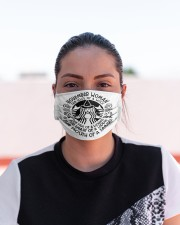 November Woman Cloth face mask aos-face-mask-lifestyle-03