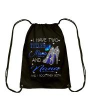 I Have Two Titles Mama And Nana Drawstring Bag tile