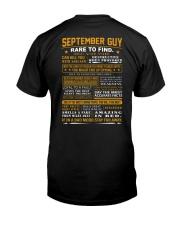 Septembet Guy Classic T-Shirt back