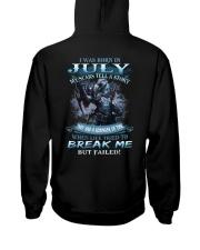 July Men Hooded Sweatshirt thumbnail