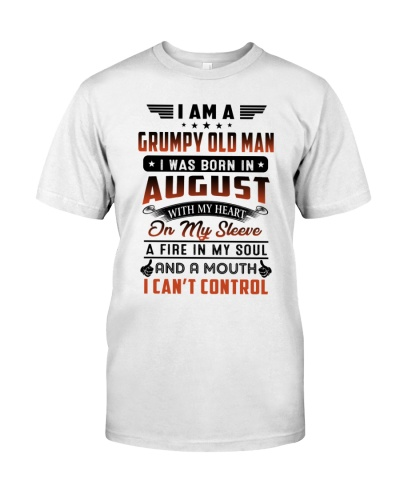 August Grumpy Old Man