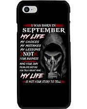 SEPTEMBER Phone Case thumbnail