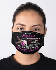 I Am A July Girl Cloth face mask aos-face-mask-lifestyle-01