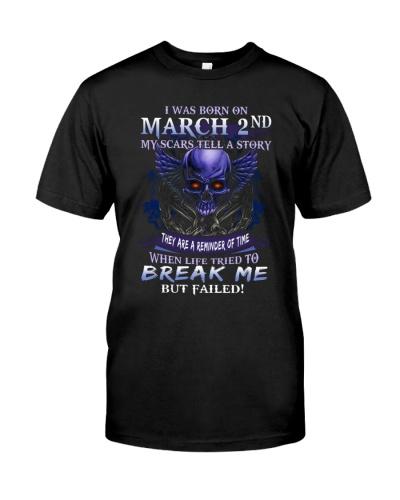 2 march  break me