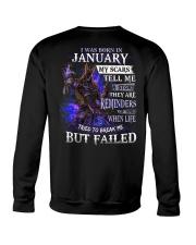 January Men My Scars Crewneck Sweatshirt thumbnail