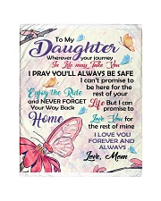 """To My Daughter Quilt 40""""x50"""" - Baby front"""