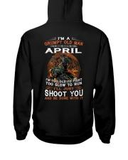 April  Men Hooded Sweatshirt thumbnail