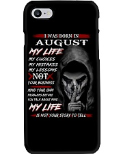 AUGUST Phone Case thumbnail