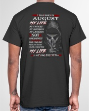 AUGUST Classic T-Shirt garment-tshirt-unisex-back-04