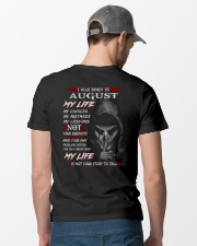 AUGUST Classic T-Shirt lifestyle-mens-crewneck-back-6