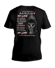 AUGUST V-Neck T-Shirt thumbnail