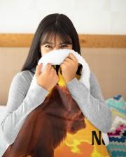 """To My Amazing Large Sherpa Fleece Blanket - 60"""" x 80"""" aos-sherpa-fleece-blanket-60x80-lifestyle-detail-front-14"""
