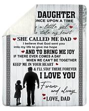 "Blanket To My Daughter Sherpa Fleece Blanket - 50"" x 60"" thumbnail"